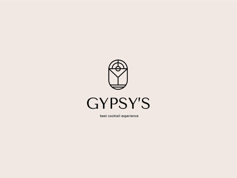 Logo for Gypsy's – Cocktail catering project