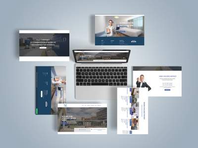 Rooms in Huddersfield website ui logo icon motiongraphics branding design typography webdesign ux