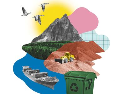 BMWi – Raw Material Strategy strategic design editorial editorial illustration illustration