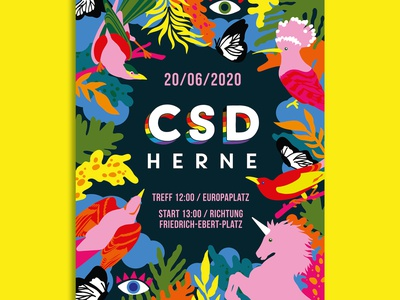 CSD Herne – Corporate Design branding corporate design keyvisual illustration