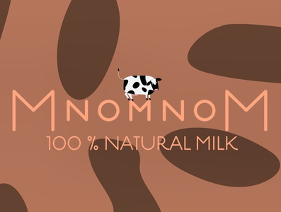 MnomnoM natural chocolate milk