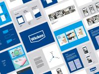 Wickes Social Media Visual Identity covid19 covid content business social media templates graphic design branding rebrand visual identity social media