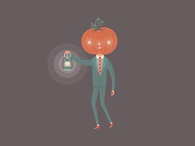 Jack O'Lantern spooky season spooky nature design fun illustration cute character design happy halloween jack o lantern pumpkin dribbbleweeklywarmup halloween