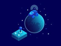 Nanobot Moon Explorer