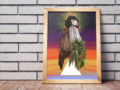 Nossa Senhora Julgamento #1 wacom tablet wacom intuos wacom panting design illustration digital art digital painting adobe fresco art