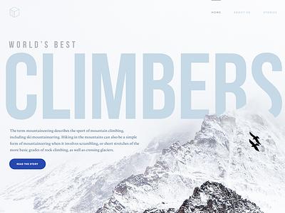 Landing Page Slides landing page typography design website design ux ui fold