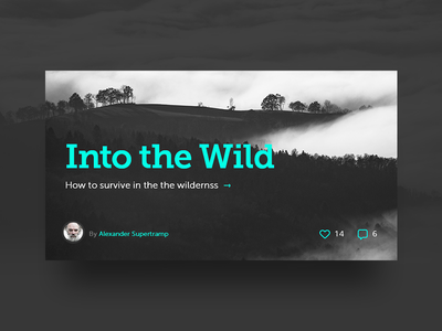 Article blog post article ui design interface design app ui