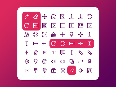 Boxel 3D Icon Kit adobexd game iconset icons