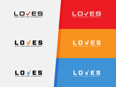 Loves Pro Moving Company Logo