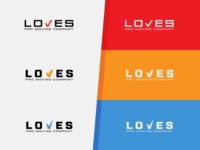 Loves Pro Moving Company Logo