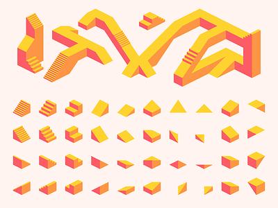 Isometric Tile Kit gamedesign game textures tiles isometric