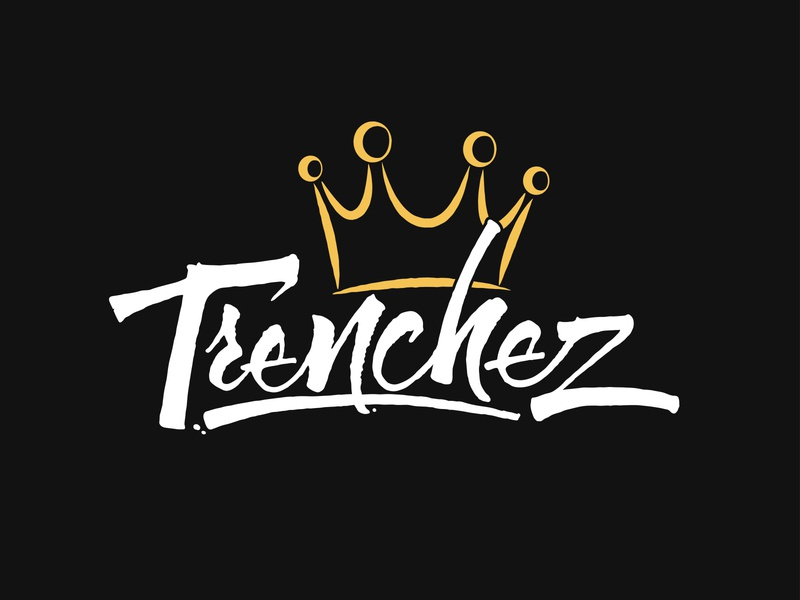 Trenchez Calligraphy Logo ink typography vector logo letters lettering hand lettering handlettering calligraphy branding
