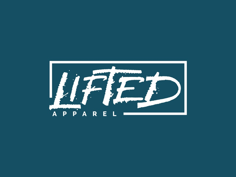 Lifted Apparel Calligraphy Logo vector ink typography logo letters lettering hand lettering handlettering calligraphy branding
