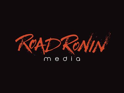 Road Ronin Media Calligraphy Logo vector ink typography logo letters lettering hand lettering handlettering calligraphy branding