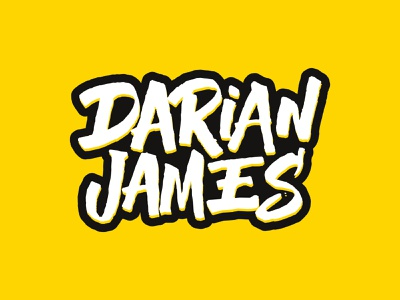 Darian James Hand lettering logo handwritten logotype typography letters lettering hand lettering handlettering calligraphy branding