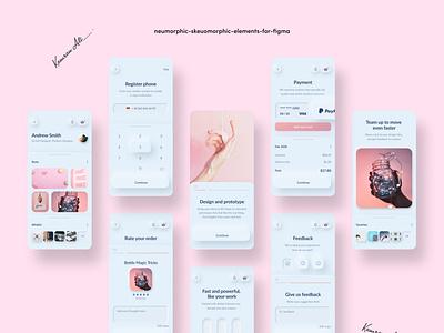 Design Elements   Skeuomorphism invision adobexd figma 2020 app design app designers branding payment app graphicdesign logodesign ui typography graphics designs uiux uidesign uxdesign ux application app design icon ui web ios guide app app design