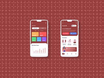 covid 19 app covid 19 kamranali.designer covid 19 app design covid 19 app design covid 19 app 2020 covid 19 app app design 2020 kamranaligold app ui uiux 2020 app design uxdesign branding app design graphicdesign