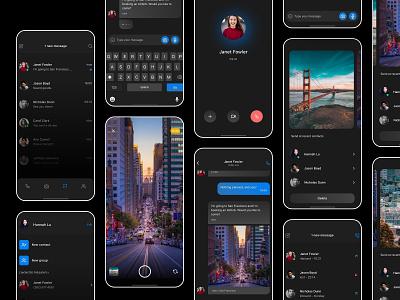 Clean Chat Concept 2020