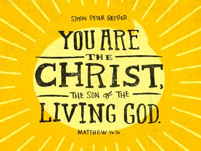 Matthew 16:16