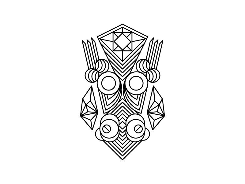 Creatures - III illustration tribal project