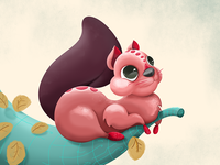 Silvie The Squirrel