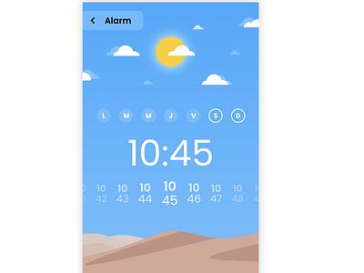 Designing new alarm app ux ui