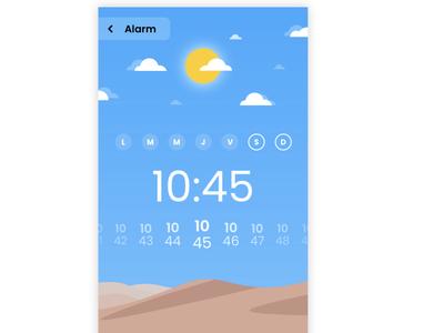 Designing new alarm app
