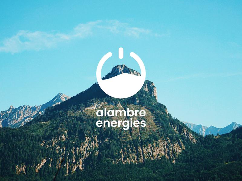 Alambre Energie branding logo design