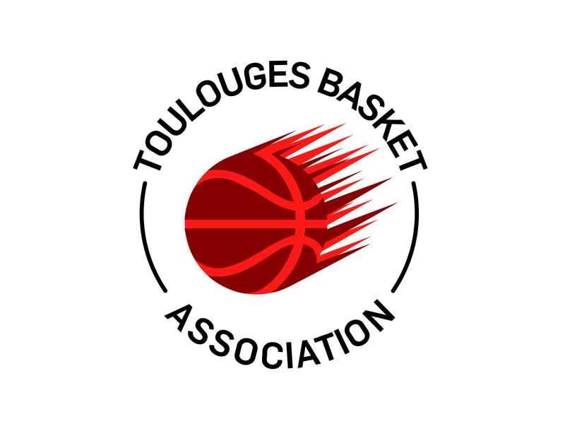 Proposition de logo club de basket professionnel logo branding design