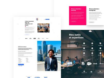Landing page 142 Consulting branding landing page webdesign ui uidesign