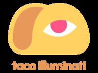 Taco Illuminati Logo