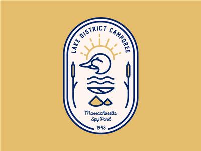 Lake District Camporee Badge