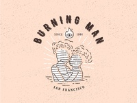 Burning Man Fest Badge