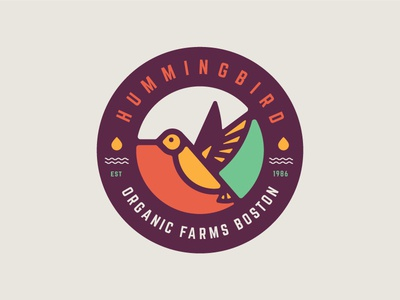 Hummingbird Organic Farms Logo