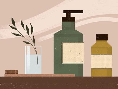Home Fragrances Shop flat minimal typography design draw sketchbook sketch picture illustration artist art illustration art
