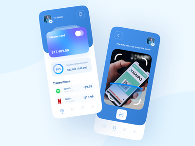 Banking app credit app creditcard credit card bank ui design banking bank app bank card dailyui ux app app design uix uiux uidesign figma uxdesign adobe bank vector