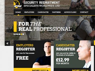 Security Recruitment Website