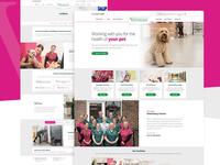 Veterinary Website Redesign