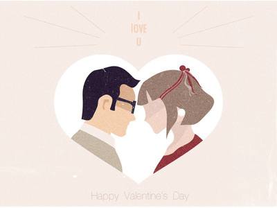 Happy Valentine's Day boy girl love day valentines happy