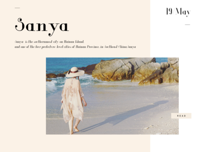 Sanya001 travel sea