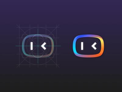 Logo for DuerOS 1 logo chat bot ai