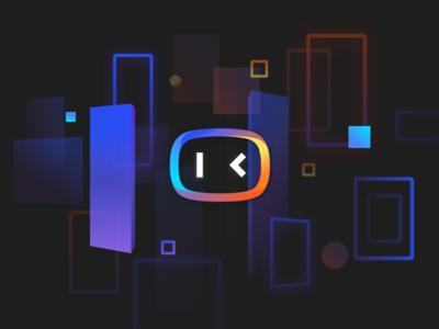 Logo for DuerOS 2 logo chat bot ai