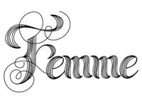 Lettering // Femme