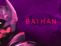The Batman dc comics bruce wayne the batman typography the creative pain illustrator illustration vector