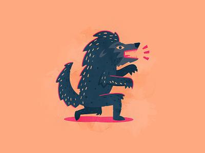 Day 1: Werewolf october werewolf illustrator illustration vector