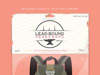 Lead parachute