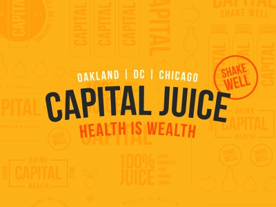 Capital Juice type capital branding juice design icons branding the creative pain illustrator illustration vector