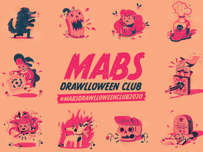 Halloween vector challenge mabs draw october scary simple typography branding icons the creative pain illustrator illustration vector halloween design halloween