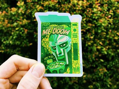 MF DOOM  stickers stickerapp stickers mf doom the creative pain illustrator illustration vector