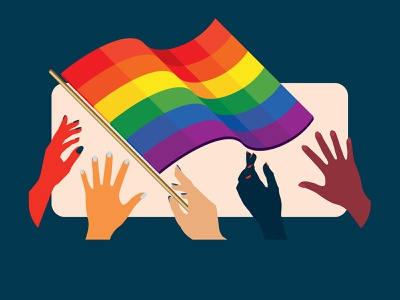 Pride Illustration pride month pride illustrator illustration vector